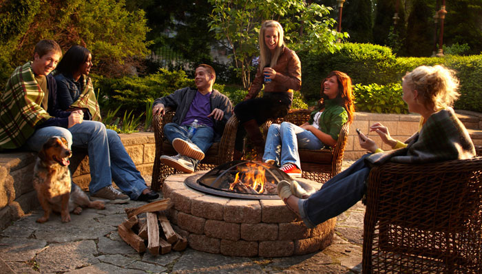 Safety Tips for Your Deck Fireplace or Fire Pit  Amazing