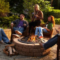Lowes Outdoor Kitchens Pendant Lighting For Kitchen Island Ideas Safety Tips Your Deck Fireplace Or Fire Pit - Amazing ...