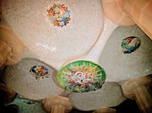 barcelona-weekend-park-guell-ceiling-at-night