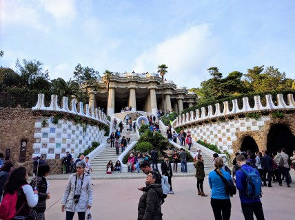 barcelona-weekend-park-guell-entrance