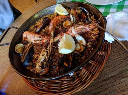 barcelona-weekend-spain-paella