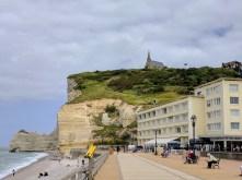 Normandy Etretat beach