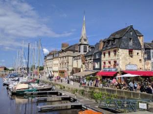 Normandy Honfleur port