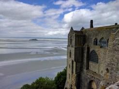 Normandy Mont Saint Michel Abbey bay