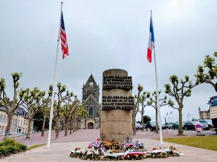 Normandy Sainte Mere Eglise monument