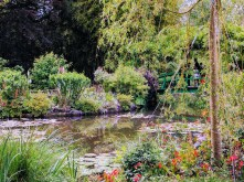 Monet Giverny waterlily bridge
