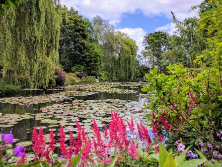 Monet Giverny waterlily pond