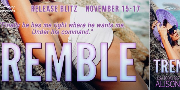 Tremble by Alison Foster Book Blitz