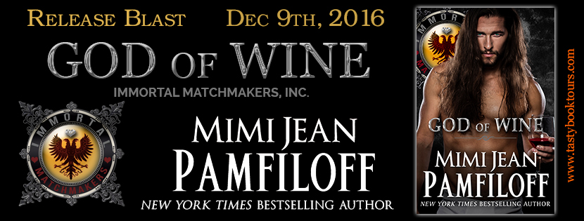 God of Wine by Mimi Jean Pamfiloff Release Blast