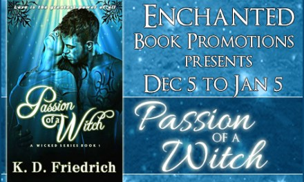 Passion of a Witch by K.D. Friedrich Blog Tour