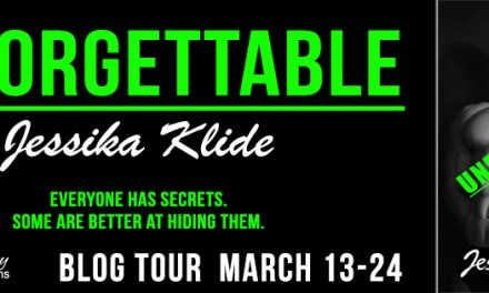 Unforgettable by Jessika Klide Blog Tour