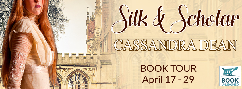 Silk & Scholar by Cassandra Dean Blog Tour