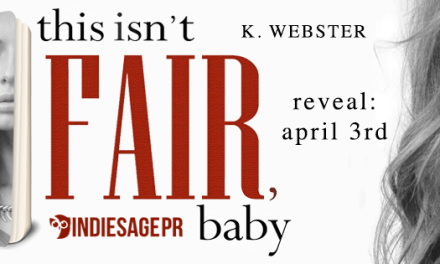 This Isn't Fair by K. Webster Cover Reveal