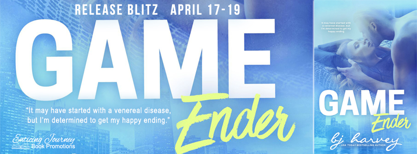 Game Ender by B.J. Harvey Release Blitz