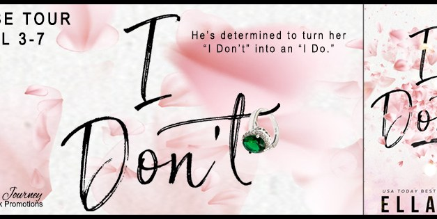 I Don't by Ella Fox Release Blitz