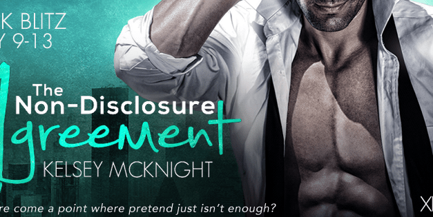 The Non-Disclosure Agreement by Kelsey McKnight Book Blitz