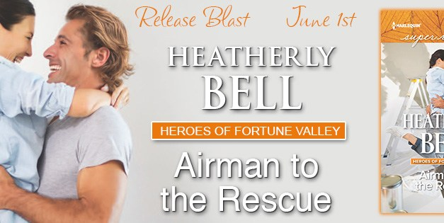 Airman To The Rescue by Heatherly Bell Release Blast