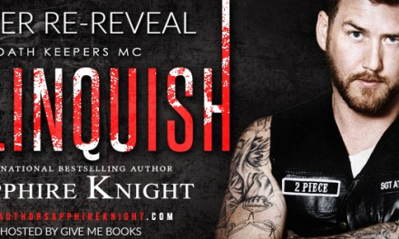 Relinquish by Sapphire Knight Cover Reveal