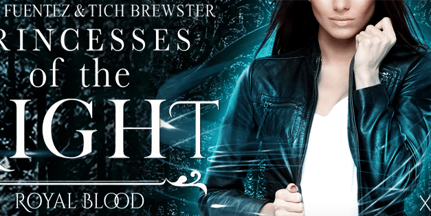 Princesses of the Night by Teresa Fuentez & Tich Brewster Cover Reveal