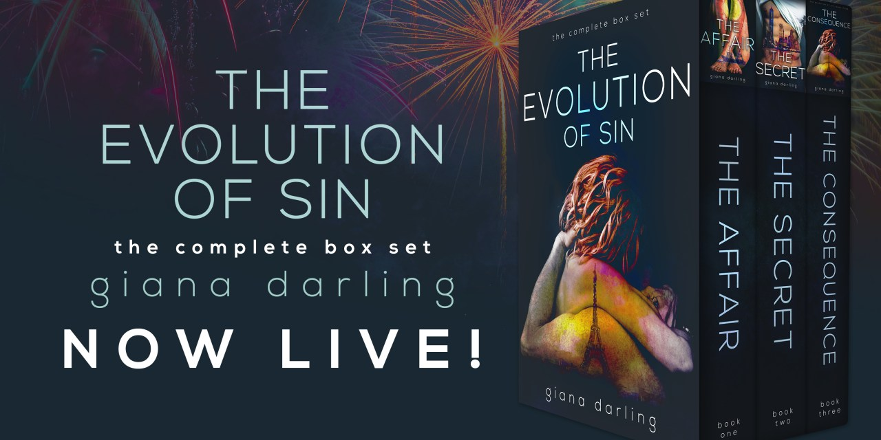 The Evolution of Sin by Giana Darling Release Blitz