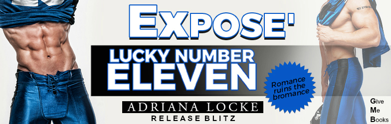 Lucky Number Eleven by Adriana Locke Release Blitz