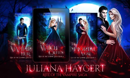 Rite of the Vampire Saga by Juliana Haygert Cover Reveal