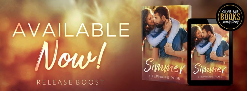 Simmer by Stephanie Rose Release Boost