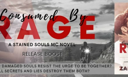 Consumed By Rage by Zara Teleg Release Boost
