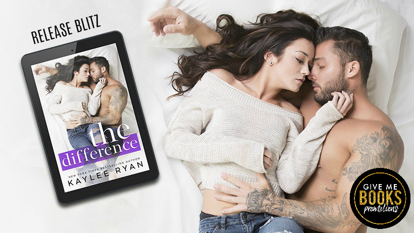 The Difference by Kaylee Ryan Release Blitz