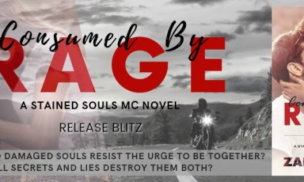 Consumed by Rage by Zara Teleg Release Blitz