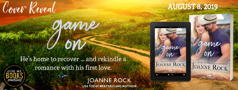 Game On by Joanne Rock Cover Reveal