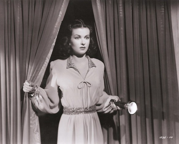 Joan Bennettt as Celia Lamphere in SECRET BEYOND THE DOOR  (1948, Fritz Lang).