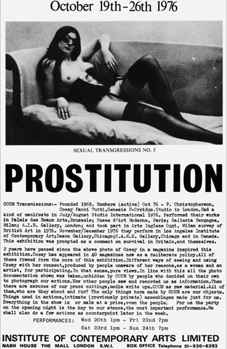 Poster for Prostitution, 1976