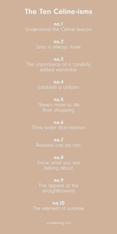 The Ten Céline-isms
