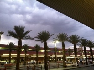 outside Las Vegas airport