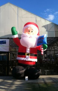 inflatable santa at lowe's