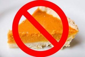 no pumpkin pie
