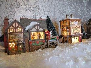 Dickens Village houses