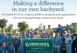 Philanthropy Friday: Improving the World Through Gardening