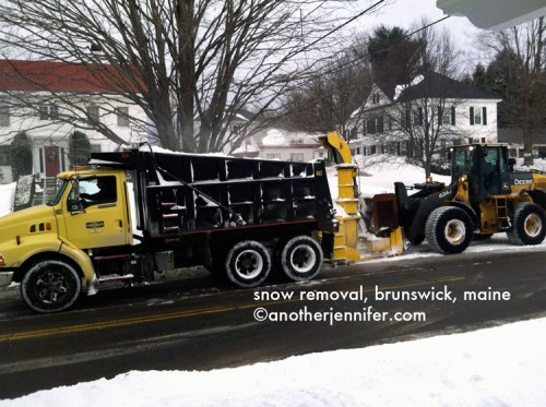 snow removal Brunswick, Maine