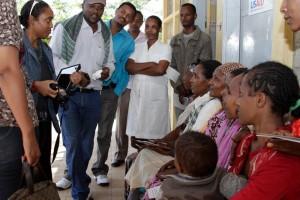 Jennifer James in Ethiopia.