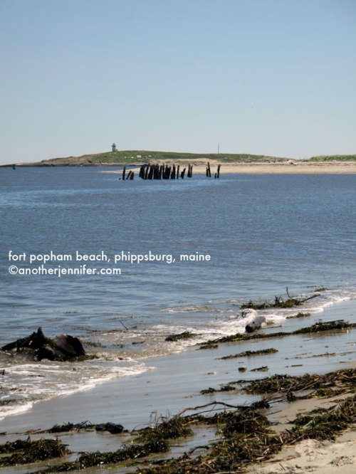 fort popham beach