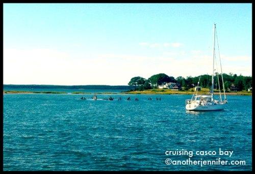 cruising casco bay