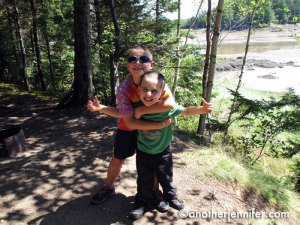Unplugging in Downeast Maine
