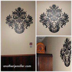 damask wall art
