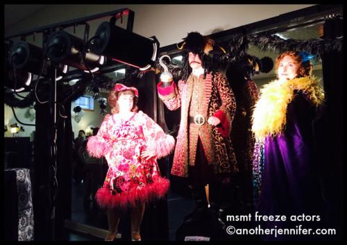 freeze actors