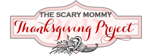 scary mom thanksgiving project