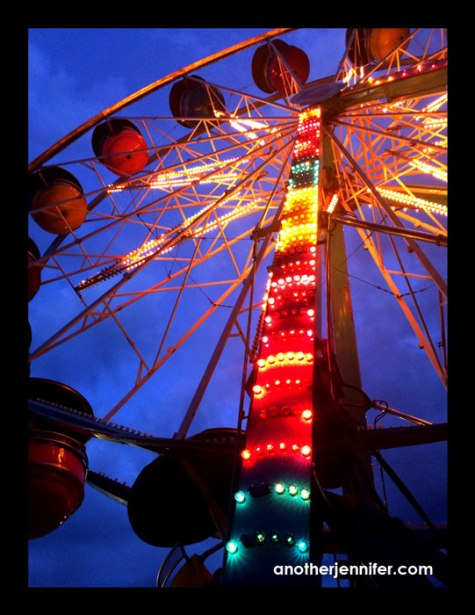 Wordless Wednesday (6.18.14): Ferris Wheel at Night by Jennifer Iacovelli Barbour