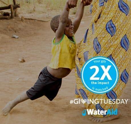 WaterAidGivingTuesday