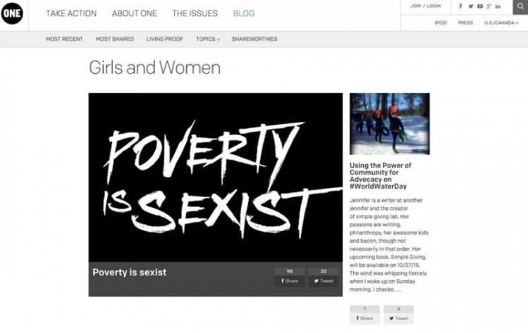 one girls and women blog